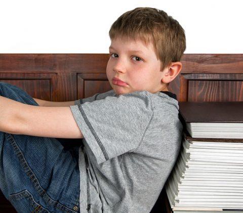 ילד שסובל מ ADHD