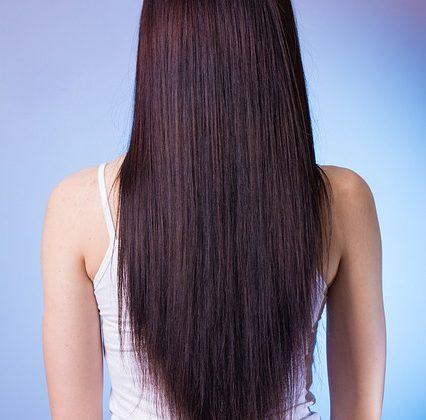 החלקה אורגנית לשיער
